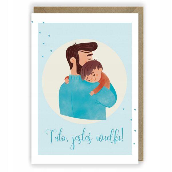 Kartka dla Taty Dzień Ojca 1