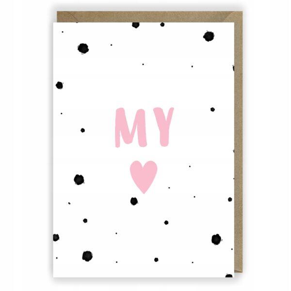 Kartka miłosna My kartka dla zakochanych 1