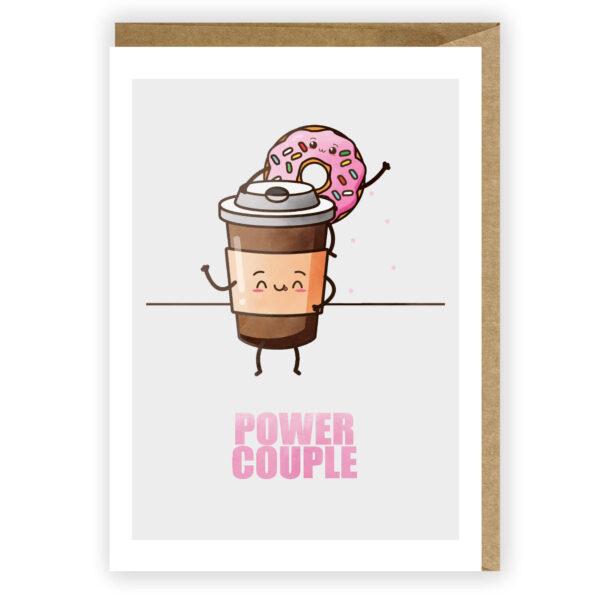 Kartka miłosna Power Couple kartka dla zakochanych 1