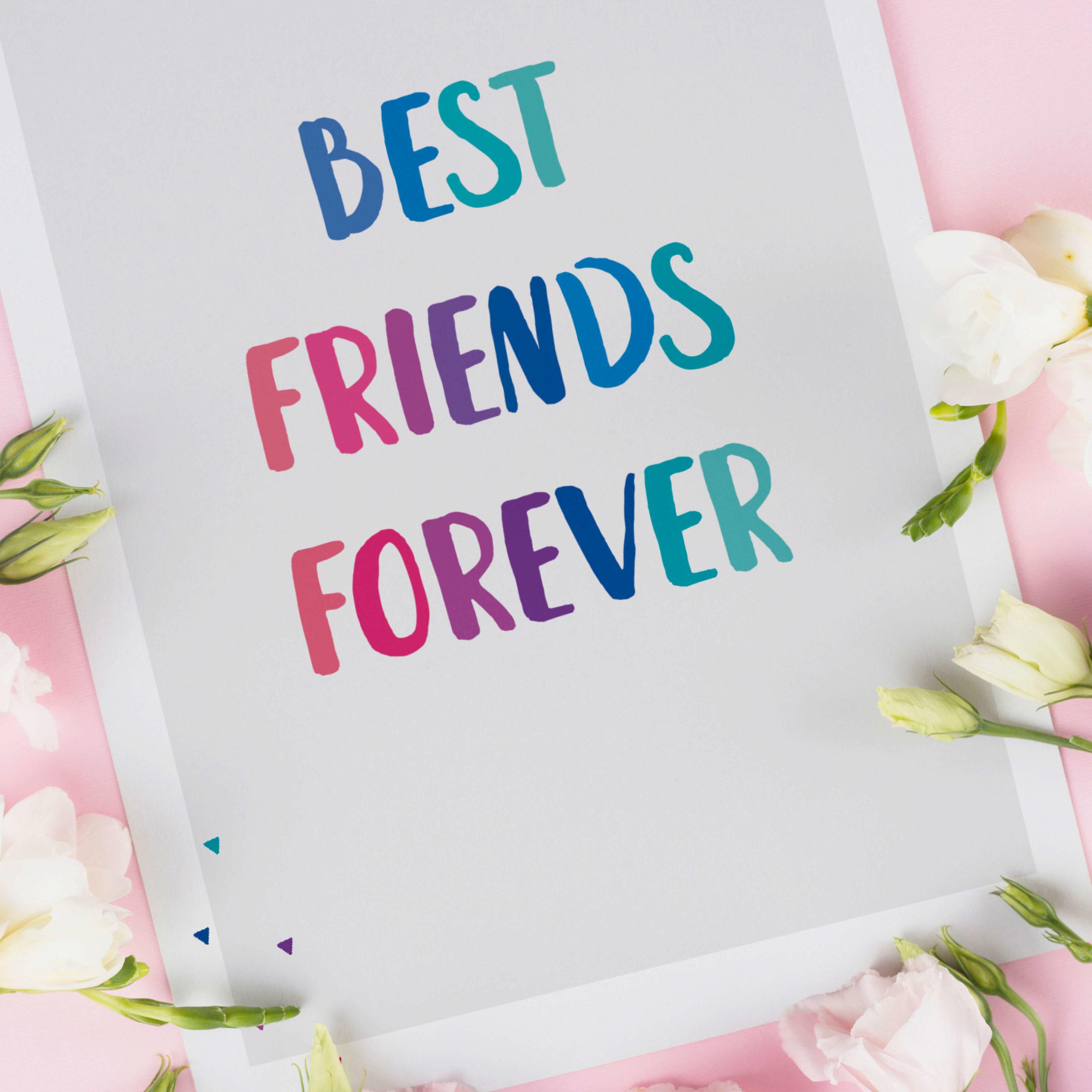 Kartka przyjaźni BFF