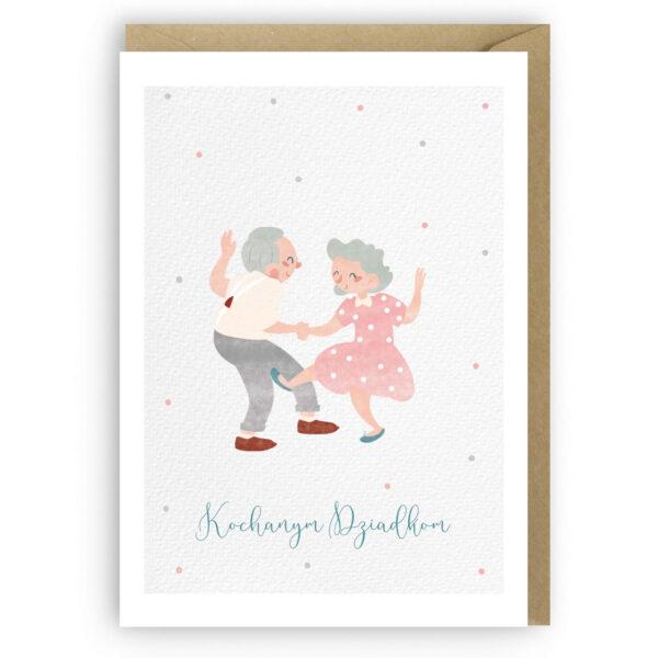 Kartka dla Dziadków, kochanym Dziadkom