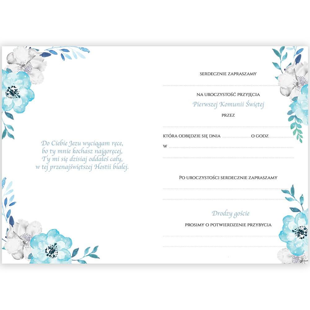 Zaproszenia-na-komunię niebieskie