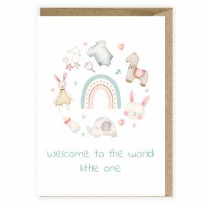 Kartka z okazji narodzin little one